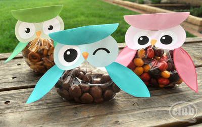 Free Printable Owl Treat Bags