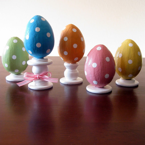 Dotty Egg Decorations