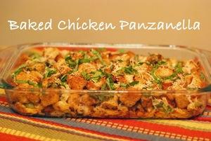 Baked Italian Chicken Panzanella