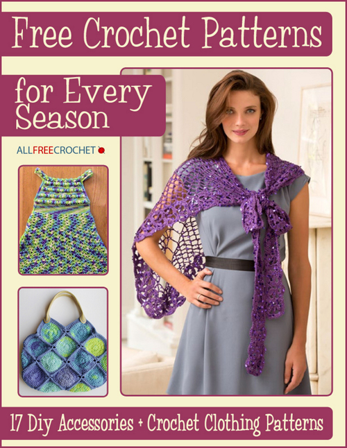 Free Crochet Patterns for Every Season 17 DIY Accessories  Crochet Clothing Patterns