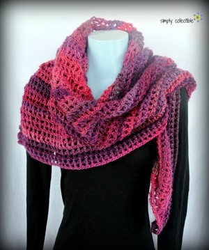 Country Sunset Shawl