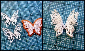 Springtime Butterfly Wedding Invitations Step 4