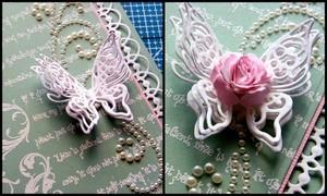 Springtime Butterfly Wedding Invitations Step 7