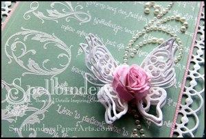 Springtime Butterfly Wedding Invitations Step 8