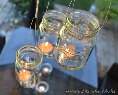 Tea Light Mason Jar Crafts