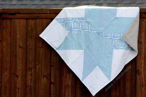 Big Star Baby Blanket