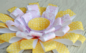Pink Lemonade Paper Flowers