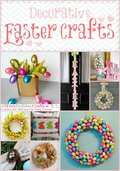 37 decorative easter crafts allfreeholidaycraftscom 37 decorative easter crafts allfreeholidaycrafts com - Decorative Crafts