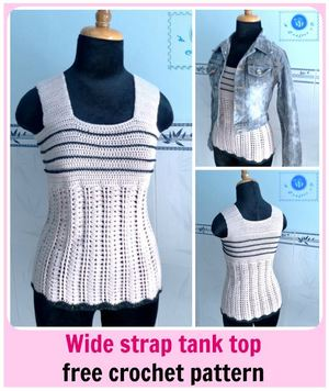 Stylish Crochet Tank Top