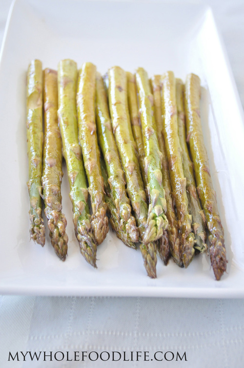 Super Easy Roasted Asparagus