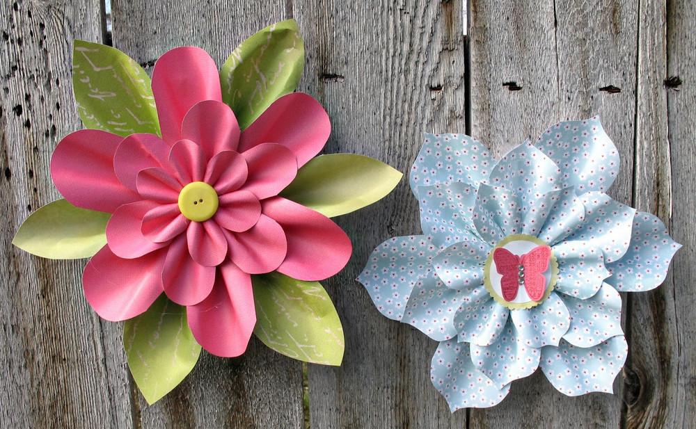 lovely little paper flowers  allfreepapercrafts
