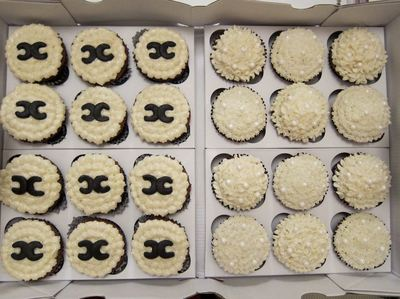 Fashion Girl Wedding Cupcakes