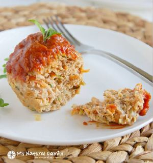 Low-Fat Turkey Meatloaf Muffins
