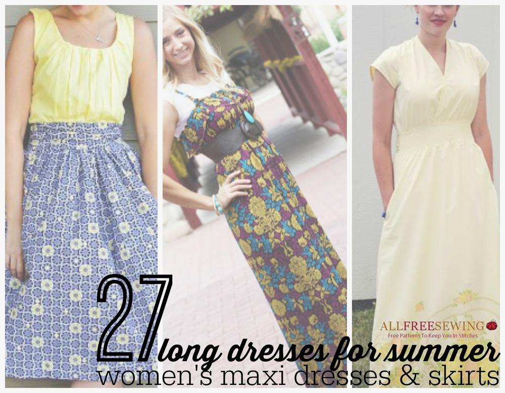 Sewing Pattern Maxi Dress