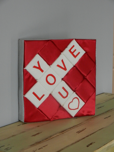Scrabble Inspired DIY Wall Art