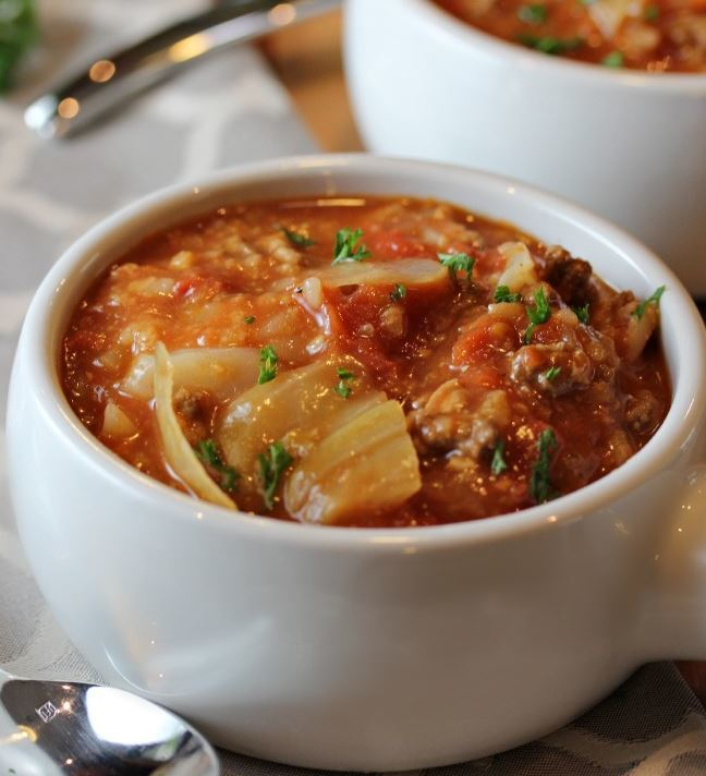 Best Slow Cooker Cabbage Roll Soup Allfreeslowcookerrecipes Com