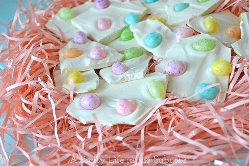 Easter Egg Bark Recipe