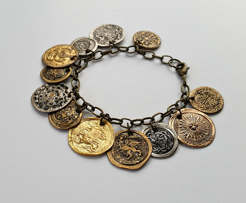 Ancient Coins DIY Bracelet