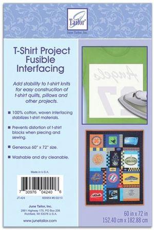 T-Shirt Project Fusible Interfacing
