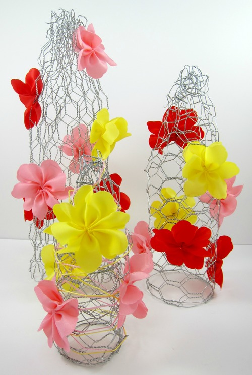 Spring Flower Trees DIY Home Decor