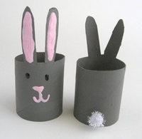 Cottontail Toilet Paper Roll Napkin Rings