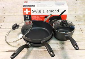 Swiss Diamond 5-Piece Pan Set