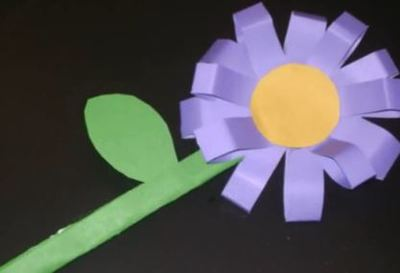 How to Make a 3D Flower for Kids