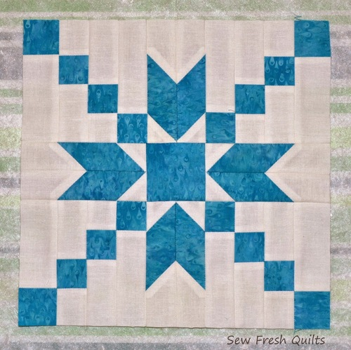 Stepping Stones Quilt Block Pattern