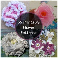 55 Printable Flower Patterns
