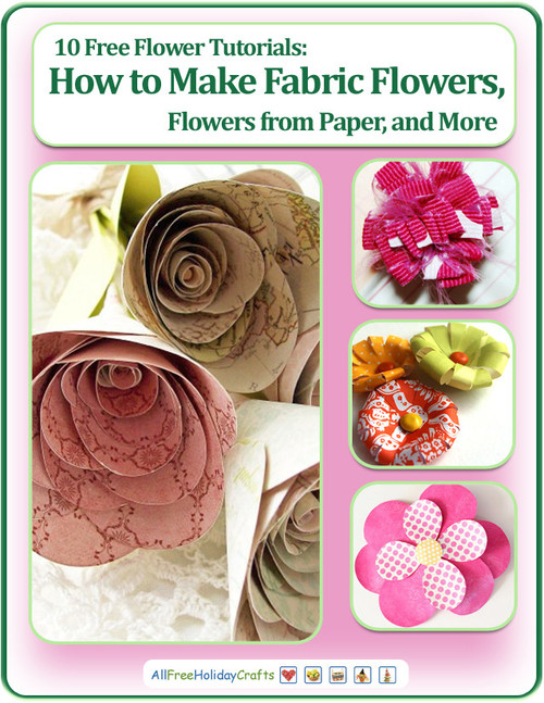 10 Free Flower Tutorials eBook
