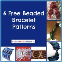 6 Free Beaded Bracelet Patterns