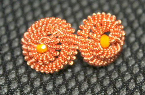 Coiled Stud Earrings