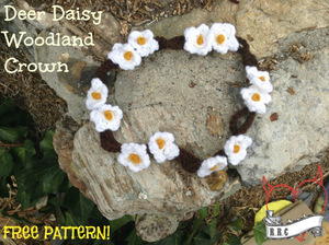 Daisy Woodland Crown