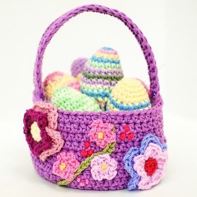 Adorable Easter Basket Crochet Pattern