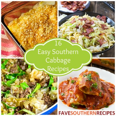 Easy Southern Cabbage Recipes