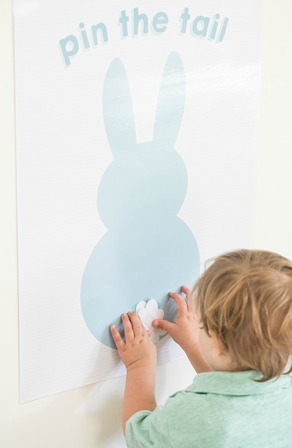 Pin the Tail on the Easter Bunny Printable - Sugar and Charm