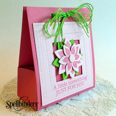Spring Flowers DIY Gift Bag