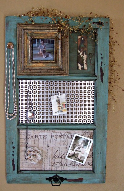 craft ideas for old windows diy vintage window frame organizer favecrafts 6217