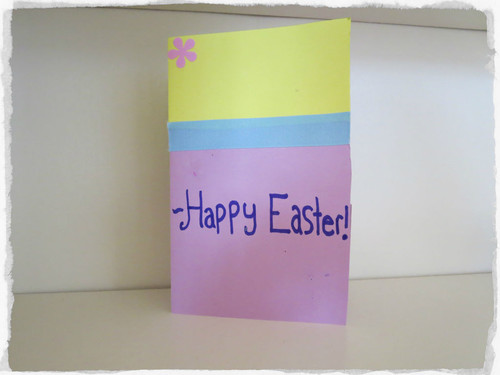 Happy Easter DIY Card