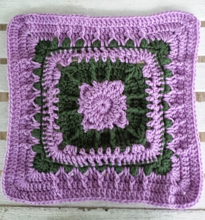 Enchanted Lilac Granny Square