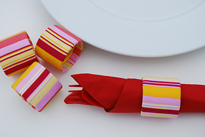 Pretty Eco-Friendly Napkin Rings