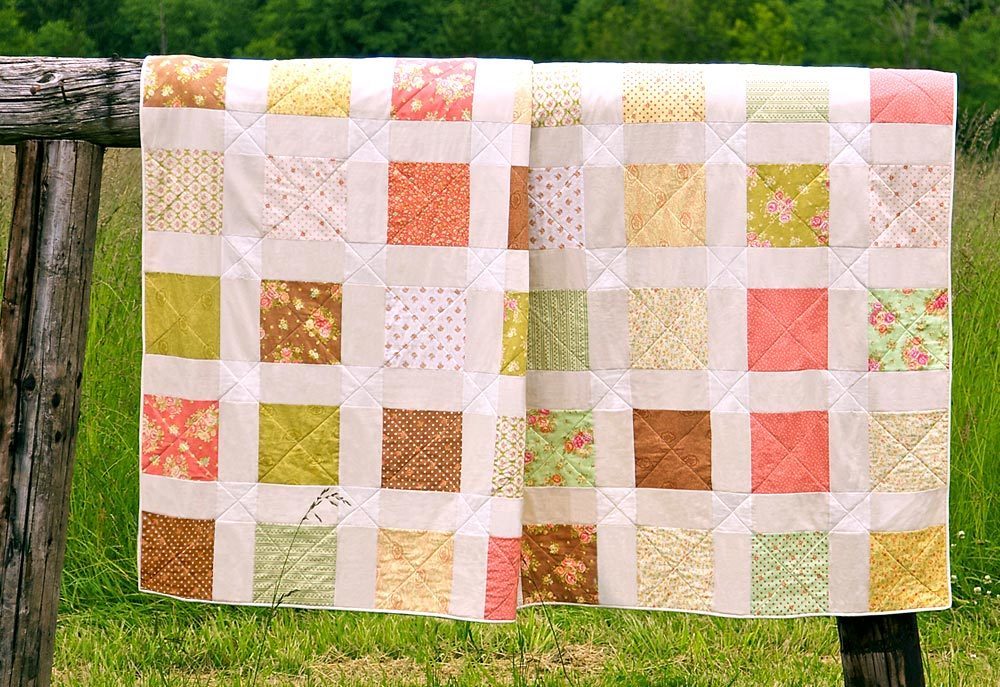 Free Traditional Quilting Patterns : 24 Traditional Quilt Patterns: Free Traditional Quilt Blocks and Vintage Patterns FaveQuilts.com