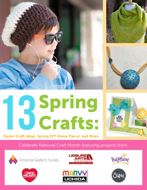 13 Spring Crafts: Easter Craft Ideas, Spring DIY Home Decor, and More