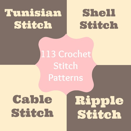Crochet Stitch Patterns Tunisian Stitch Crochet Shell Stitch