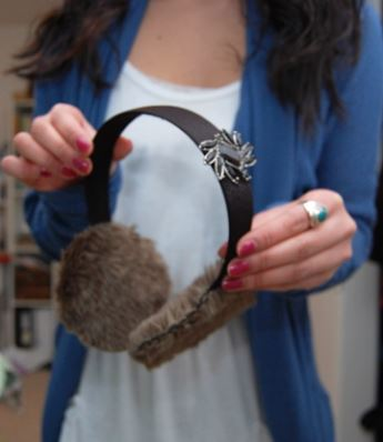 How to Make Ear Muffs for a Wedding
