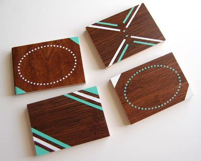 Chic Wooden Coasters