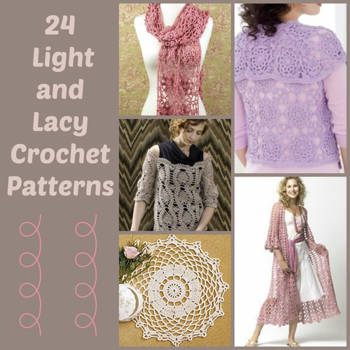 24 Light And Lacy Crochet Patterns Allfreecrochet
