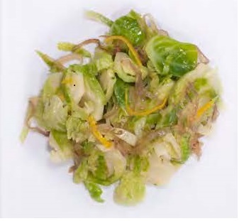 Brussels Sprouts with Orange Dressing