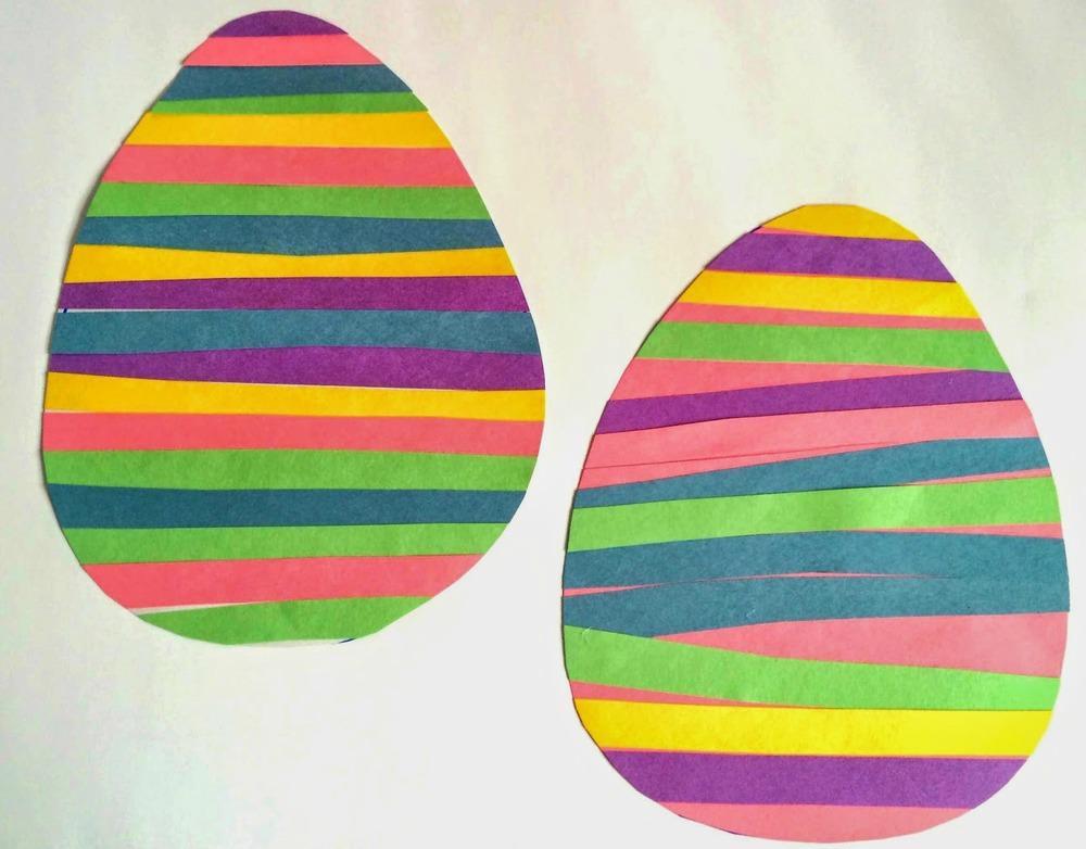 10 Minute Paper Eggs Allfreekidscrafts Com