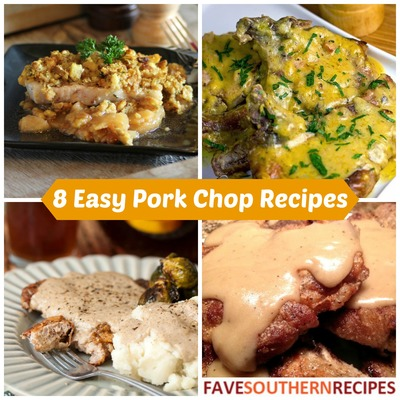 8 Easy Southern Pork Chop Recipes